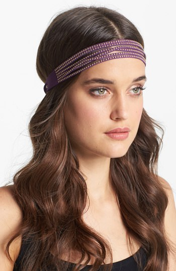 "Tasha ""Studly"" Suede Wrap Headband"