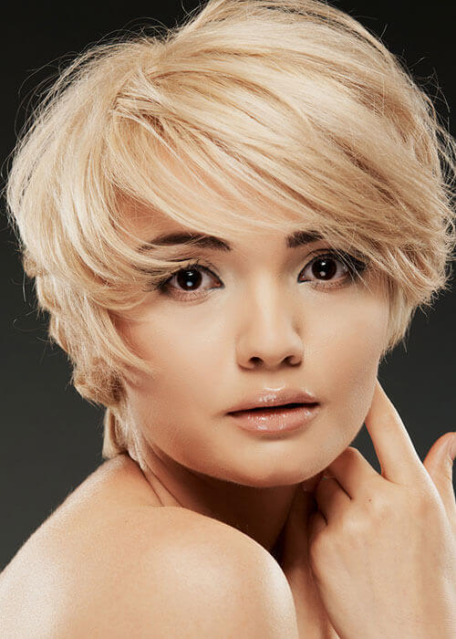 Remarkable 20 Fun Amp Spunky Short Blonde Hairstyle Ideas Hairstyles For Women Draintrainus