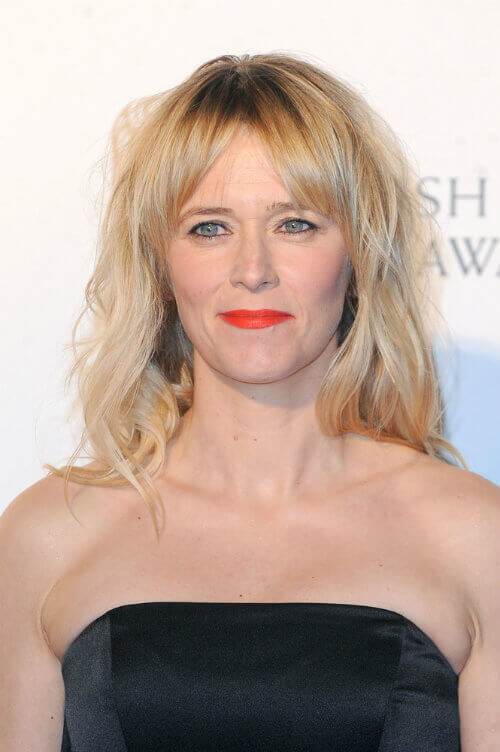 Edith Bowman Spring Hairstyle with Texture and Fringe