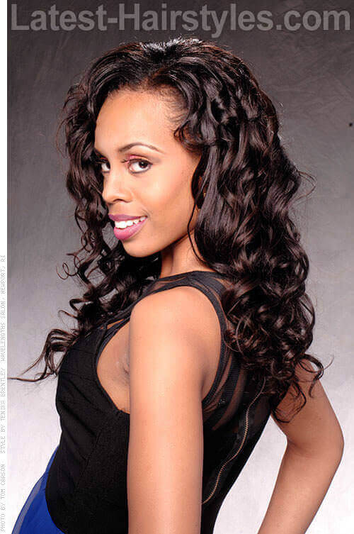 Awesome Add Some Spring To Your Hair With These Curly Hairstyles Short Hairstyles Gunalazisus