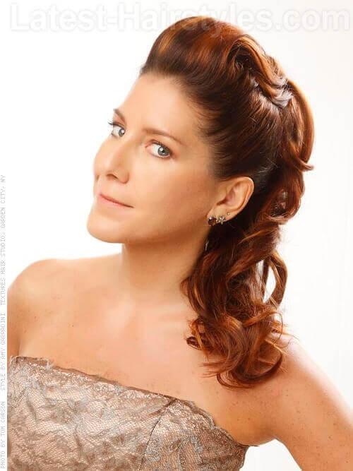 Strange 25 Cute Prom Hairstyles Guaranteed To Turn Heads Hairstyles For Women Draintrainus