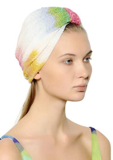 Missoni Viscose & Lurex Knit Hat