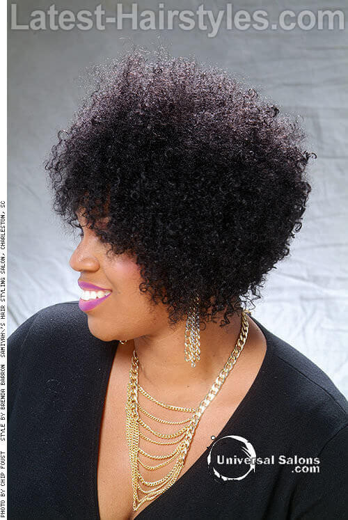 Natural Short Hairstyle for Spring Side