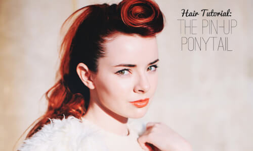 PIN-UP Ponytail
