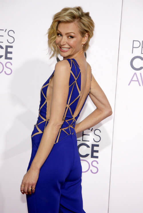 Portia de Rossi Short Hairstyle with Waves