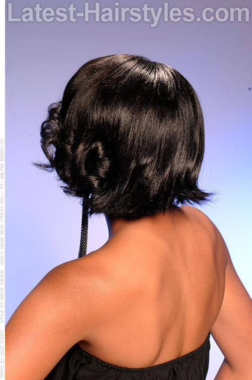 Short Bob Hairstyle for Spring Back
