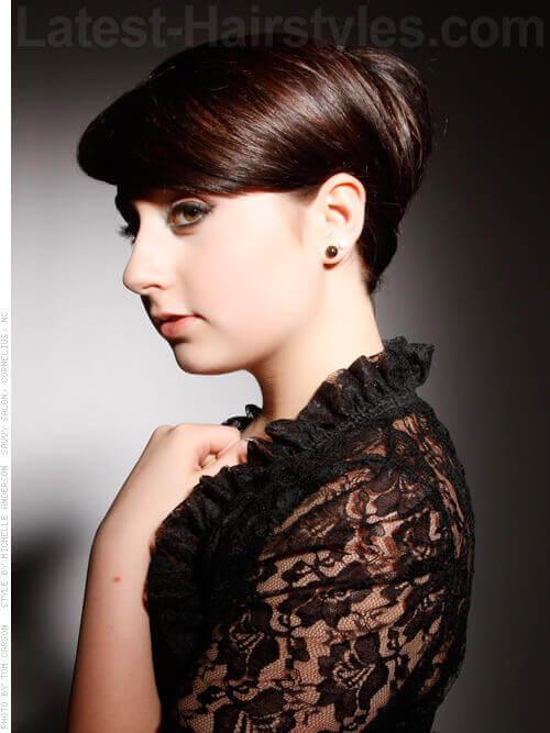 Short Sleek Prom Hairstyle