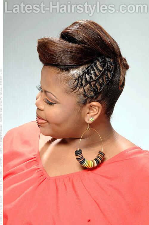 Tied Twists Up do