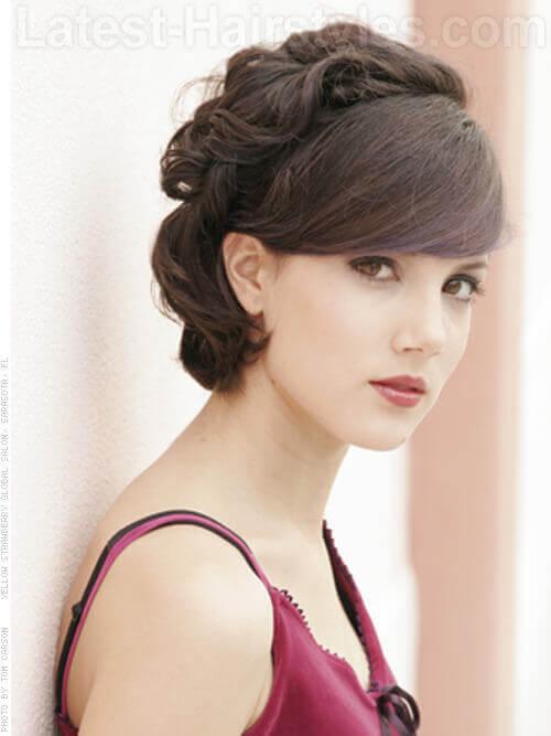 Vintage Prom Hair Ideas for Shorter Hair