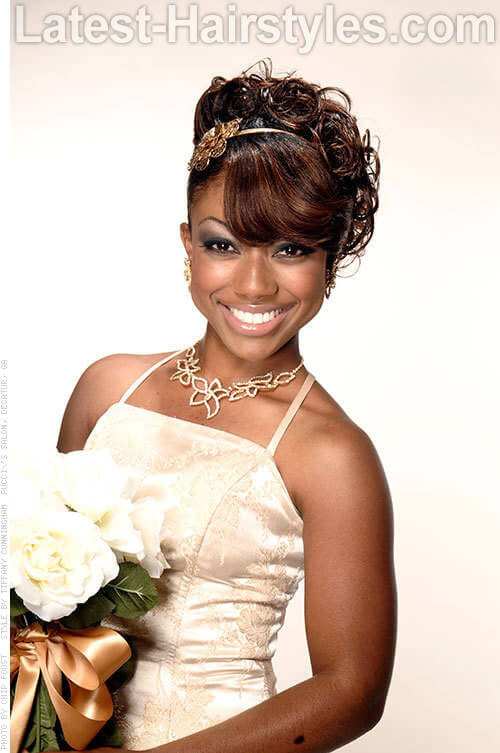 Pleasing 16 Beautiful Black Hairstyles That Are Perfect For Weddings Hairstyle Inspiration Daily Dogsangcom