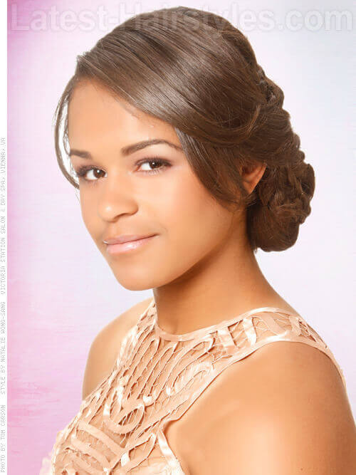 hair prom styles picture black people