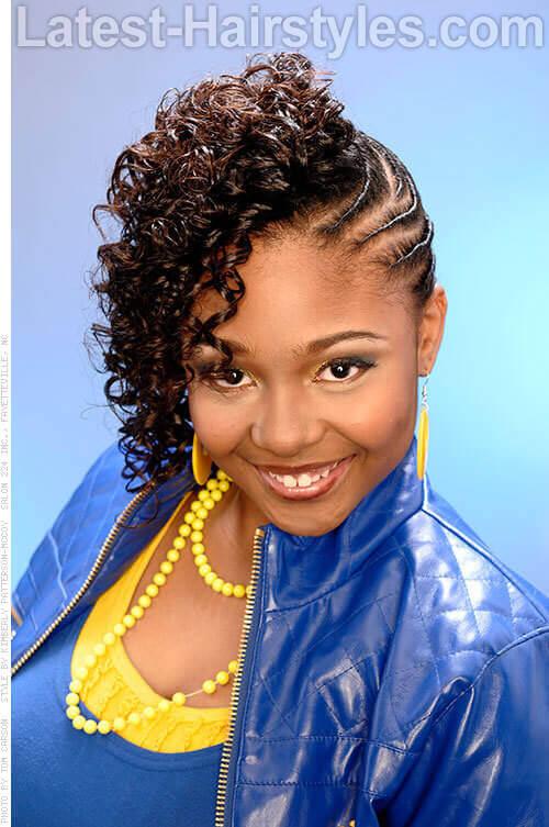Pleasant 17 Amazing Prom Hairstyles For Black Girls And Young Women Short Hairstyles Gunalazisus