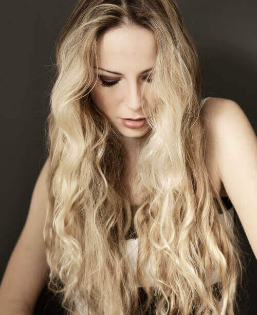 Try This Look On Your Long Blonde Locks. The Best Part Of This Style Is  That You Can Achieve This Look Without Using Heat!
