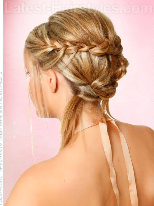 Bridal Hairstyle with Braids