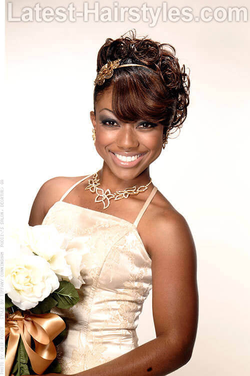 11 African American Wedding Hairstyles For The Bride Amp Her Bridesmaids
