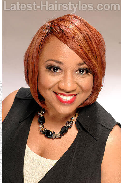 Weave Bob Hairstyles With Middle Part sgratisylegal