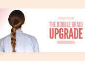 Double Braided Ponytail Tutorial