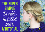 Double Twisted Bun Tutorial
