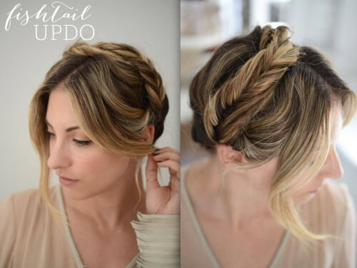 Pleasant Trendy Updos For Your Formal Occasions Black Tie Approved Hairstyle Inspiration Daily Dogsangcom
