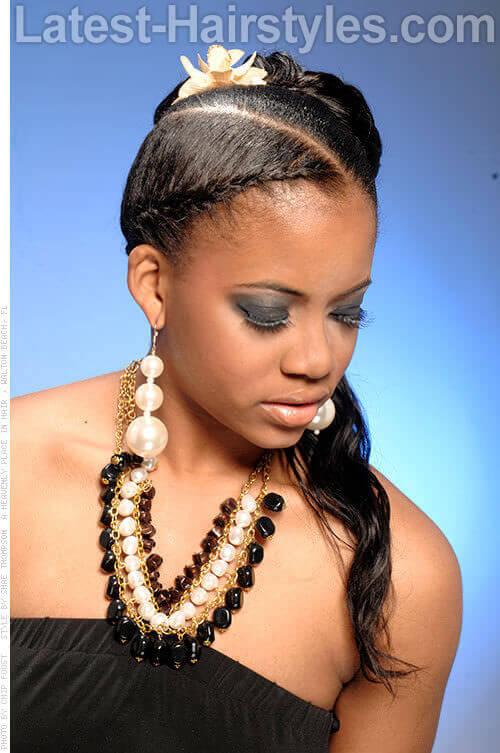 Surprising 11 African American Wedding Hairstyles For The Bride Amp Her Bridesmaids Short Hairstyles Gunalazisus