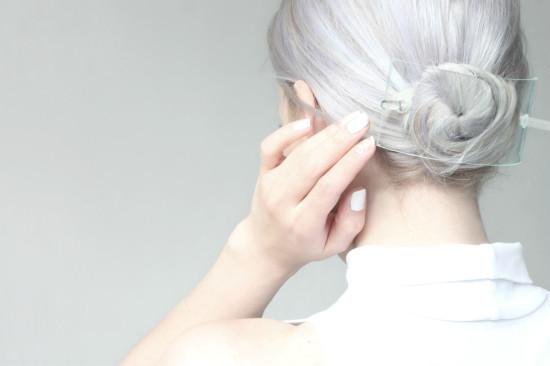 Glass Barrette DIY Hair Accessories