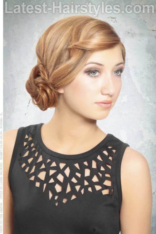 Fabulous 20 Completely Easy Long Hair Updos For You To Try Short Hairstyles For Black Women Fulllsitofus