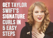 Taylor Swift Curls Tutorial