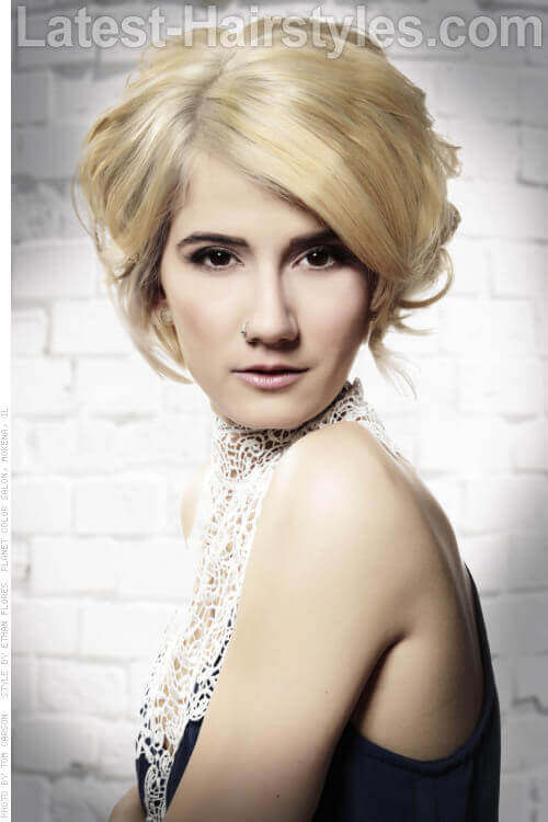 Groovy Our 10 Favorite Wedding Hairstyles For Short Hair Hairstyles For Men Maxibearus