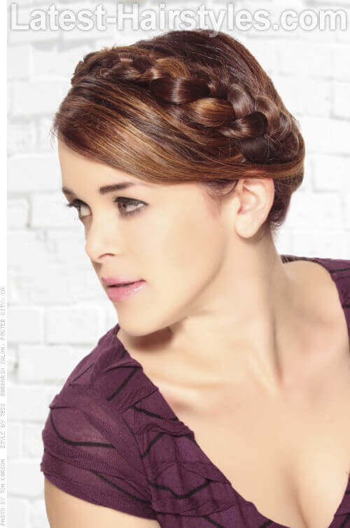 Boho Chic Updo with Braid