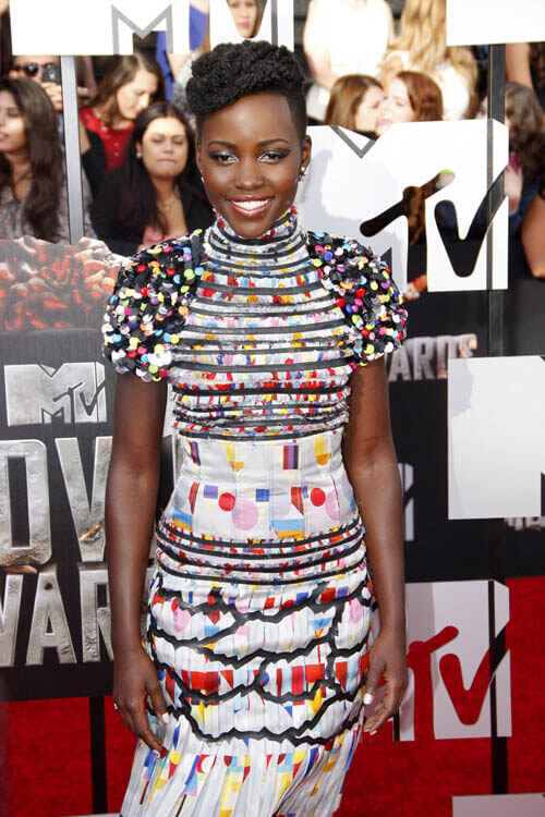 Lupita Nyong'o - MTV Movie Awards Hairstyles