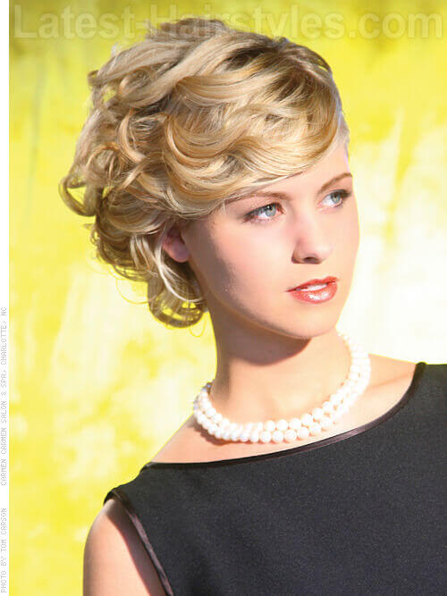 Nupital Nuance Updo with Fringe