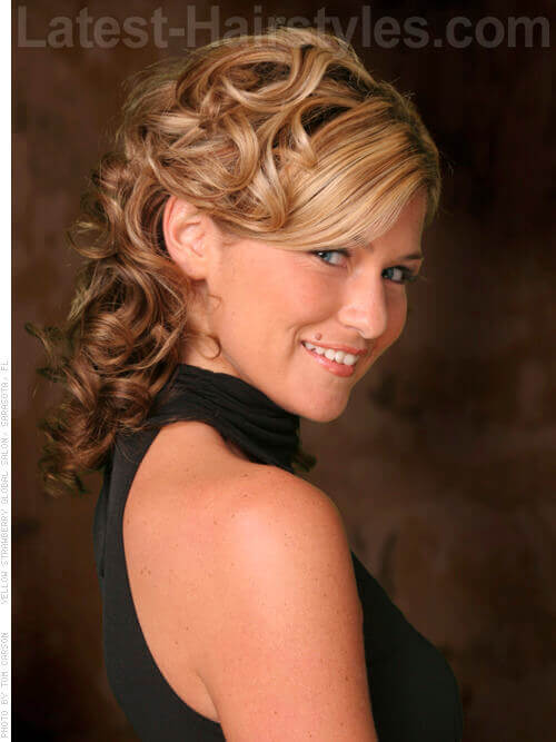 Wedding hairstyles for mother of the bride medium hair