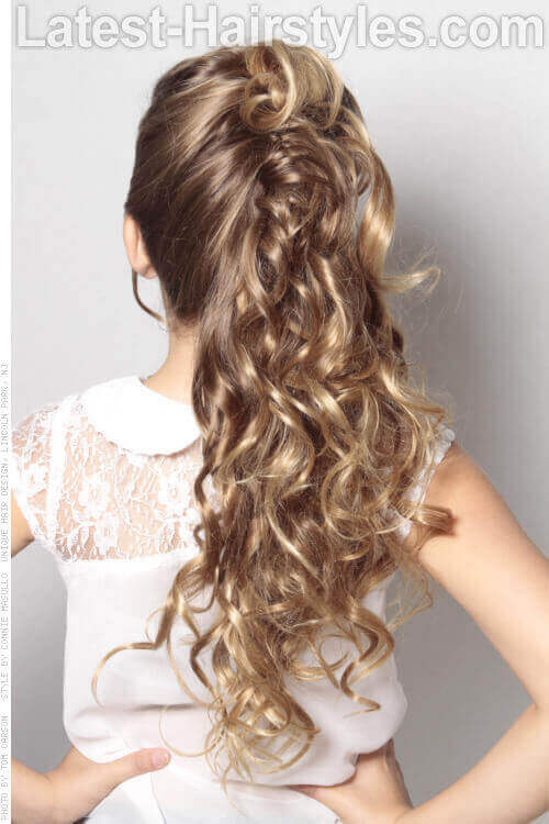 The Mane Attraction Wedding Style for a Little Girl