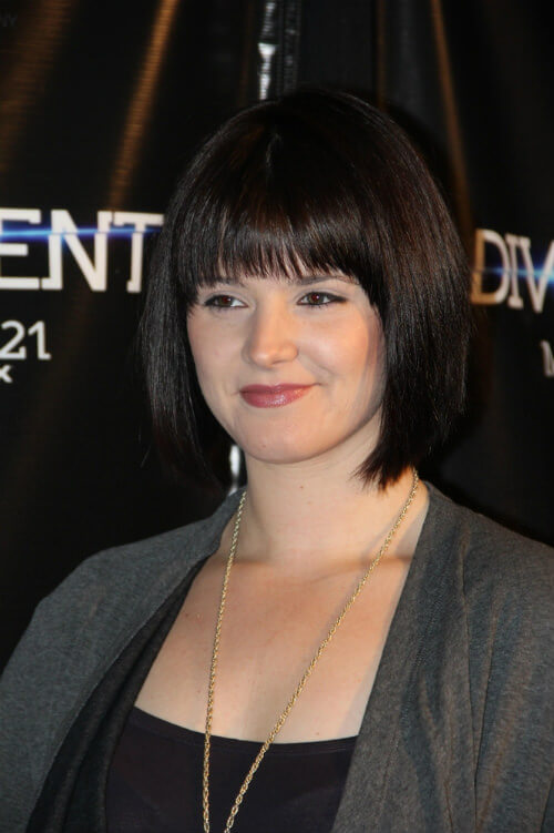 Amy Newbold Chin Length Bob with Fringe