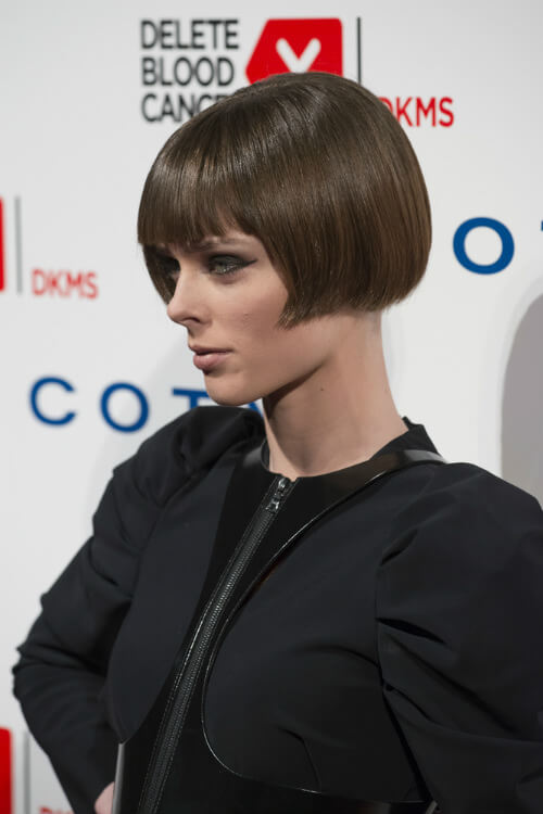 Coco Rocha Sleek Bob Celebrity Hairstyle
