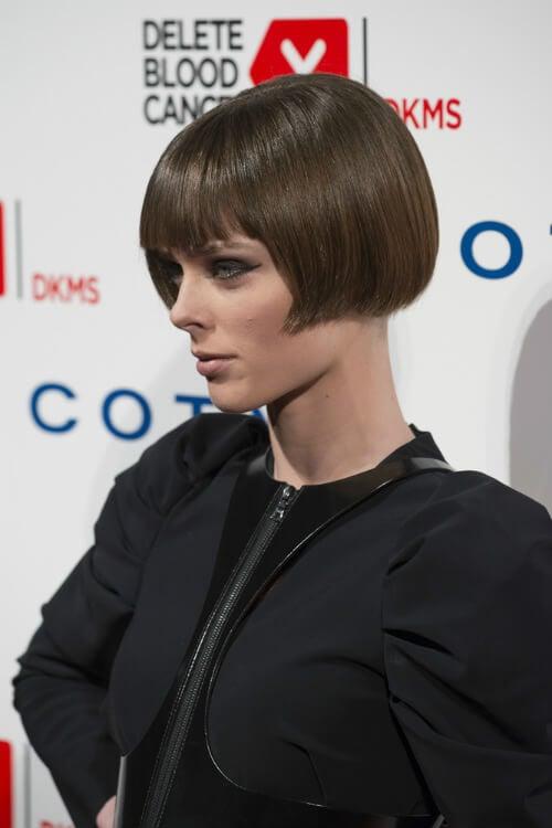 Coco Rocha Sleek Bob Celebrity Hairstyle