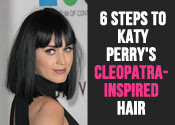 Katy Perry Cleopatra Hair