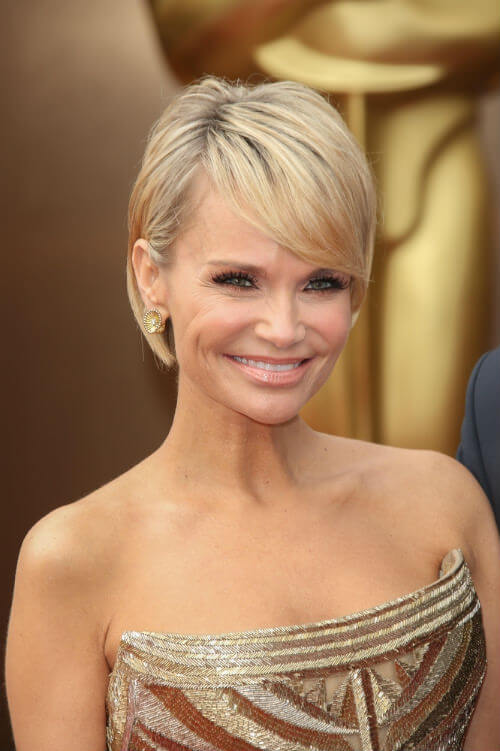 Kristin Chenoweth Short Hairstyle with Fringe