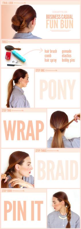 Surprising Fun Bun Tutorial Throw Your Hair Into A Fun Bun Hairstyles For Men Maxibearus