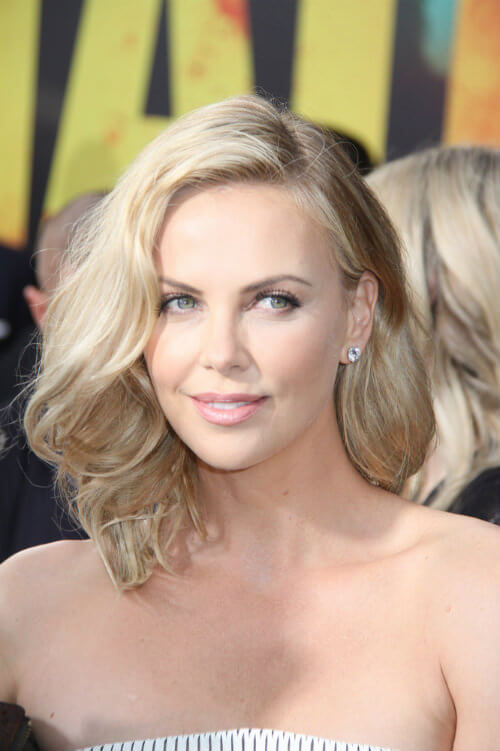 Charlize Theron Summer Hairstyle