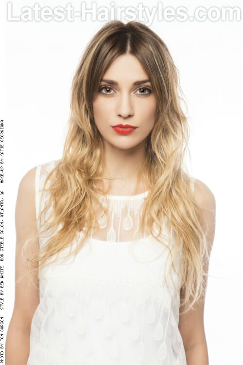 Cool Long Summer Hairstyle