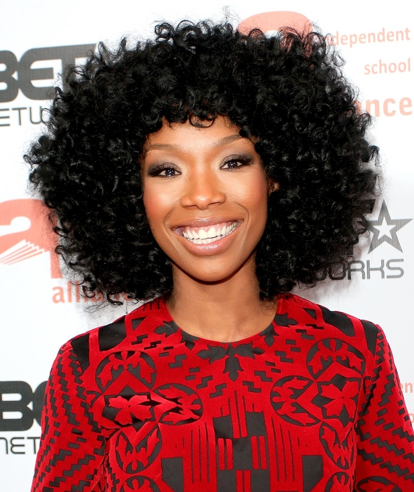 Magnificent 5 Celebrity Inspired Natural Hair Weave Techniques Hairstyles For Women Draintrainus