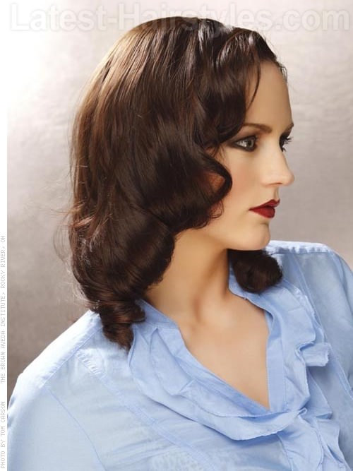 Fine 15 Curled Hairstyles To Try Grab Your Hair Curling Wand Short Hairstyles Gunalazisus