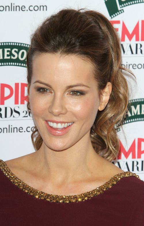 Kate Beckinsale Ponytail with Volume
