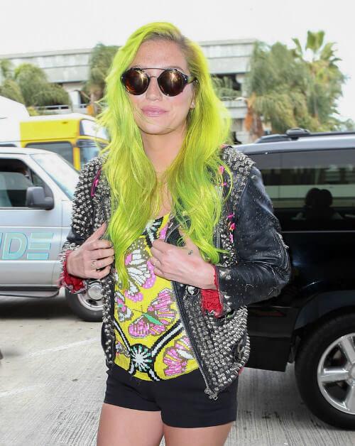 Kesha Summer Hairstyle