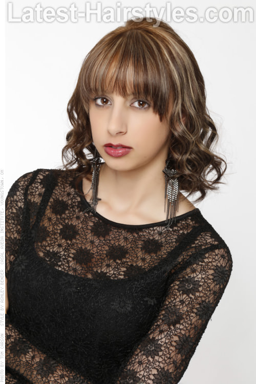 Peachy 15 Medium Hairstyles With Bangs Our Latest Faves Short Hairstyles Gunalazisus