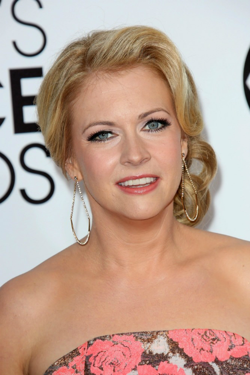 Melissa Joan Hart Retro Side Updo