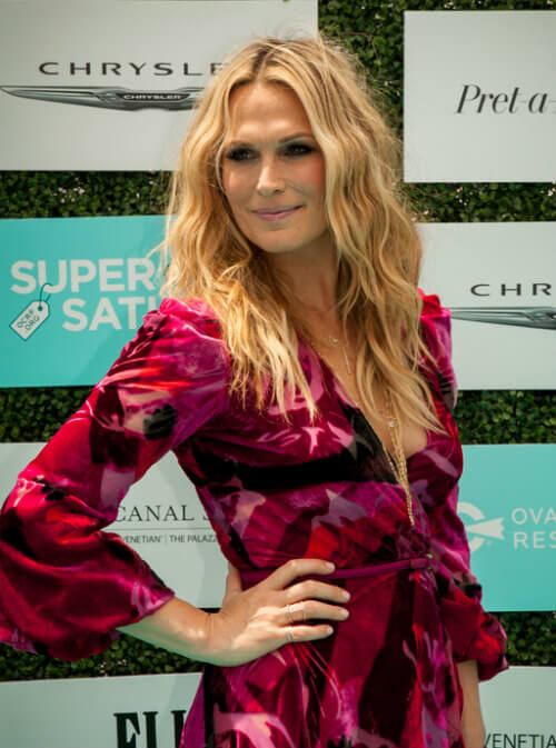 Molly Sims Summer Hairstyle