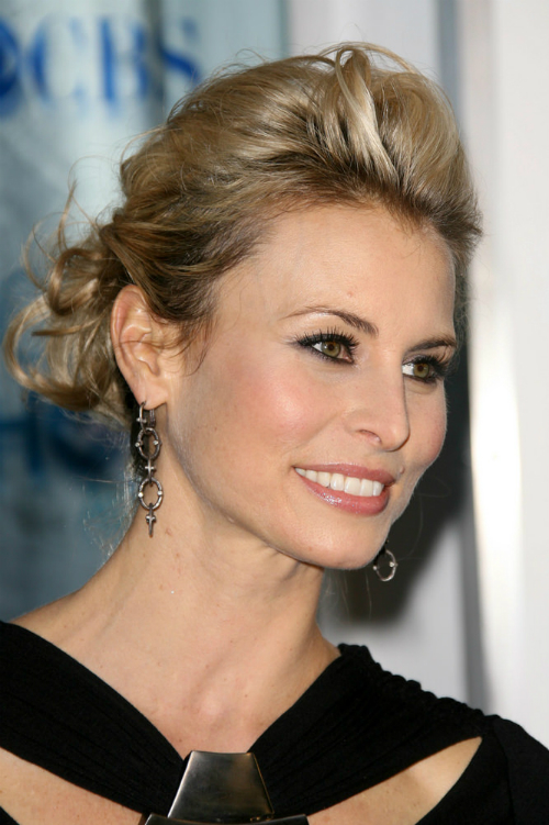 Niki Taylor Low Pompadour Celebrity Hairstyle
