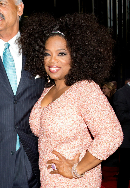 Oprah's Hair With Volume